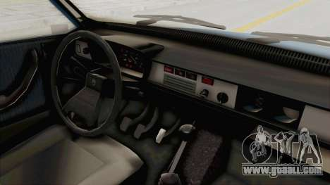 Dacia 1310 MLS 1988 Stock for GTA San Andreas inner view