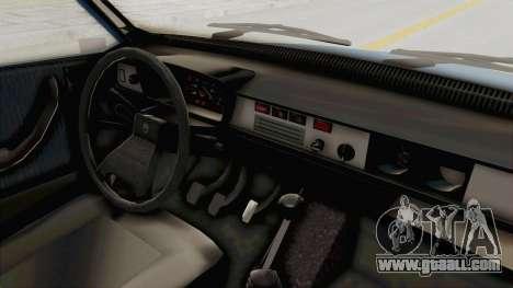 Dacia 1310 MLS 1988 Stock for GTA San Andreas inner view