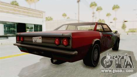 Redwood TaMpa for GTA San Andreas left view