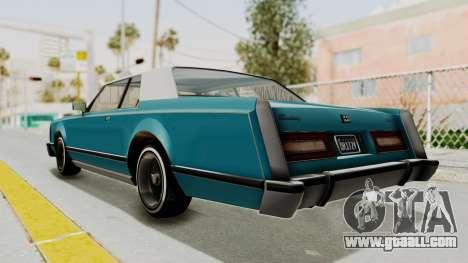 GTA 5 Dundreary Virgo Classic Custom v3 IVF for GTA San Andreas left view