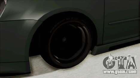 Volkswagen Golf MK5 JDM for GTA San Andreas back view