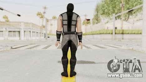 Mortal Kombat X Klassic Human Smoke for GTA San Andreas third screenshot
