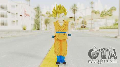 Dragon Ball Xenoverse Gohan Teen DBS SSJ2 v2 for GTA San Andreas second screenshot