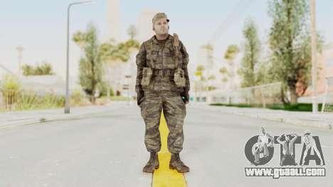 COD BO SOG Mason v2 for GTA San Andreas second screenshot