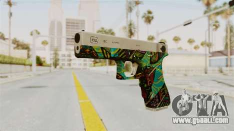 Glock 18C for GTA San Andreas