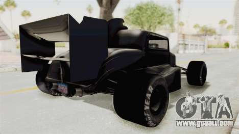 Ford 32 F1 for GTA San Andreas back left view