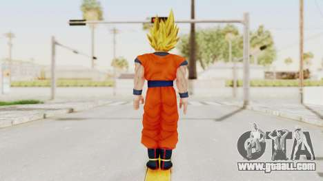 Dragon Ball Xenoverse Goku SSJ1 for GTA San Andreas third screenshot
