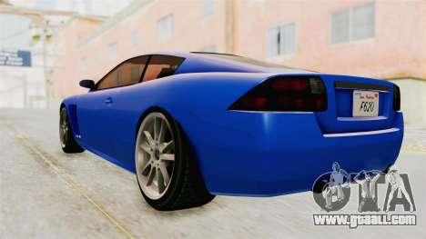 GTA 5 Ocelot F620 IVF for GTA San Andreas left view