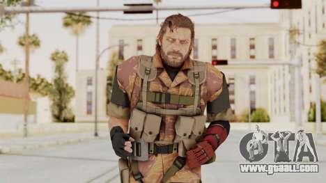 MGSV The Phantom Pain Venom Snake No Eyepatch v5 for GTA San Andreas
