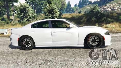 GTA 5 Dodge Charger SRT Hellcat 2015 v1.3 left side view