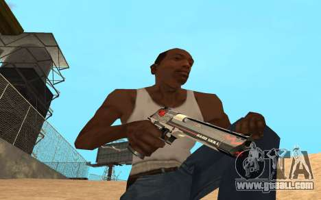 Desert Eagle Cyrex for GTA San Andreas third screenshot