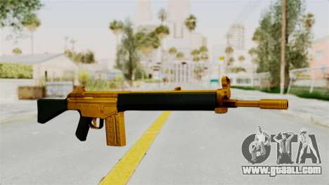 G3A3 Gold for GTA San Andreas