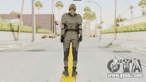 MGSV Phantom Pain Quiet Sniper Wolf for GTA San Andreas third screenshot