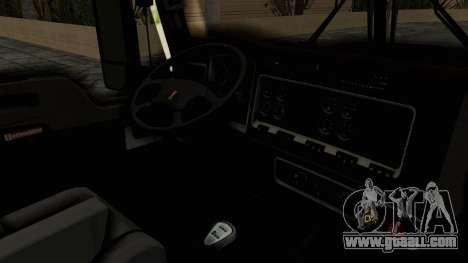 Kenworth T660 Sleeper for GTA San Andreas inner view