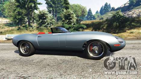 GTA 5 Eagle Speedster 2012 left side view