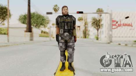 MGSV The Phantom Pain Venom Snake No Eyepatch v7 for GTA San Andreas second screenshot