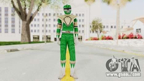 Mighty Morphin Power Rangers - Green for GTA San Andreas second screenshot