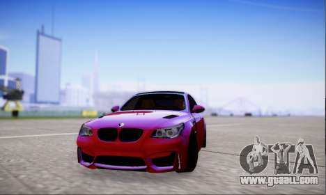 BMW M5 E60 Huracan for GTA San Andreas