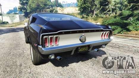 Ford Mustang 1968 v1.1 for GTA 5