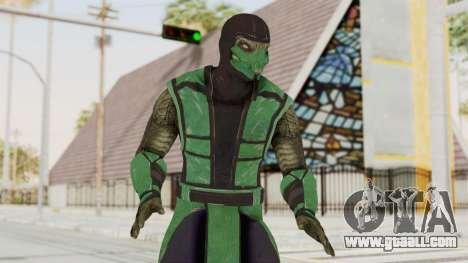 Mortal Kombat X Klassic Reptile for GTA San Andreas