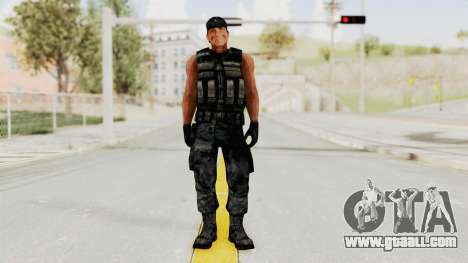 Rambo for GTA San Andreas second screenshot