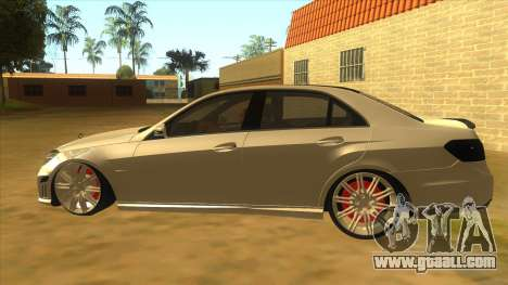 Mercedes Benz E250 Authority Tool for GTA San Andreas left view