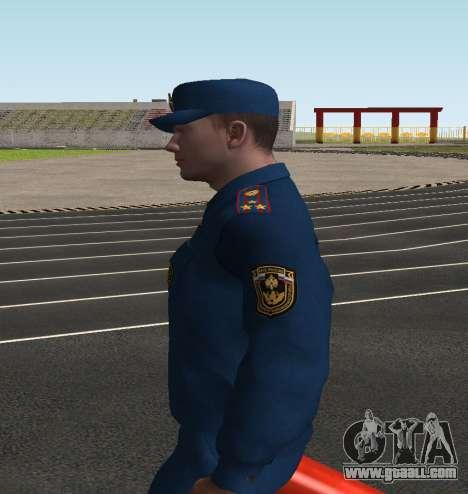 The Colonel EMERCOM of Russia for GTA San Andreas third screenshot