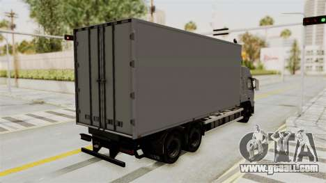 Volvo FM Euro 6 6x4 Tandem v1.0 for GTA San Andreas back left view