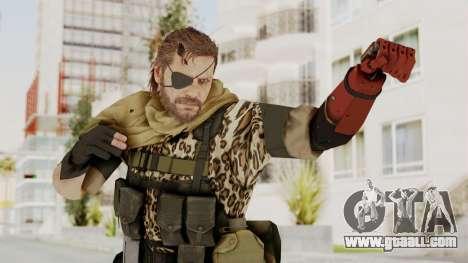 MGSV The Phantom Pain Venom Snake Scarf v8 for GTA San Andreas