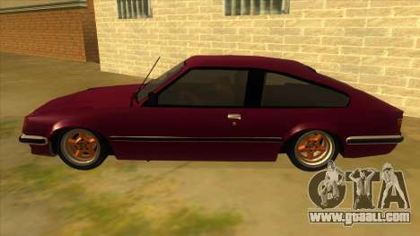 Opel Monza A1 for GTA San Andreas left view