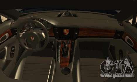 Porsche Panamera Turbo for GTA San Andreas right view