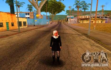 Iranian Girl for GTA San Andreas forth screenshot