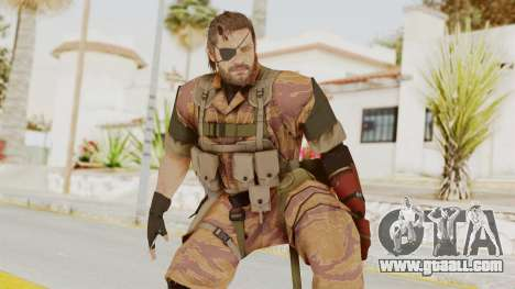 MGSV The Phantom Pain Venom Snake Golden Tiger for GTA San Andreas