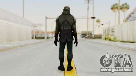 Half Life 2 - Metrocop Remake for GTA San Andreas third screenshot