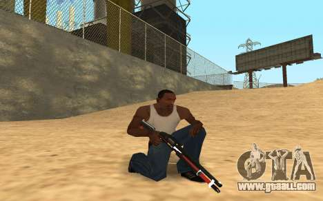 Shotgun Cyrex for GTA San Andreas third screenshot