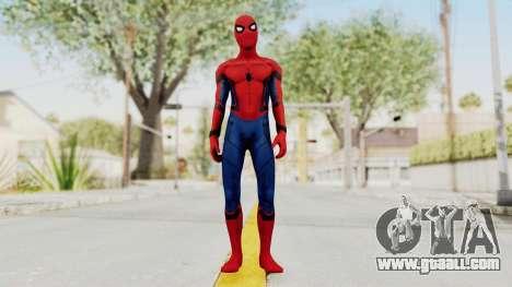 Captain America Civil War - Spider-Man for GTA San Andreas second screenshot