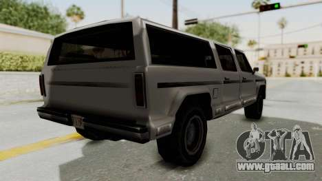 New Rancher for GTA San Andreas left view