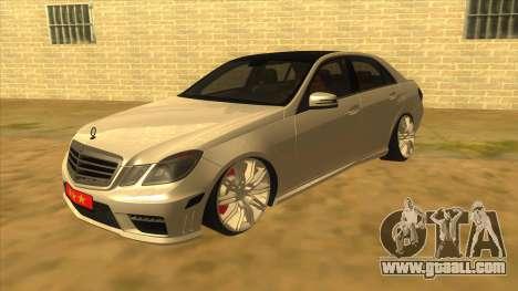 Mercedes Benz E250 Authority Tool for GTA San Andreas