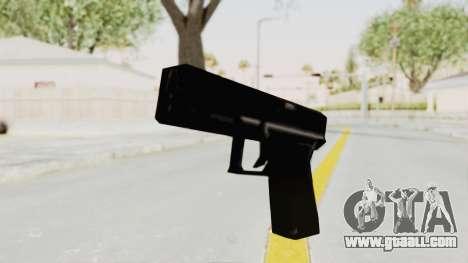 Liberty City Stories - Glock 17 for GTA San Andreas second screenshot