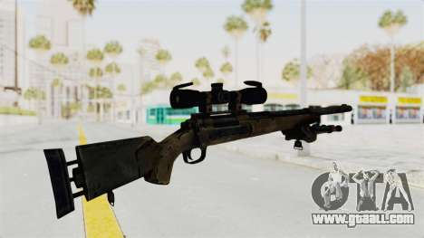 M24 Sniper Ghost Warrior for GTA San Andreas third screenshot
