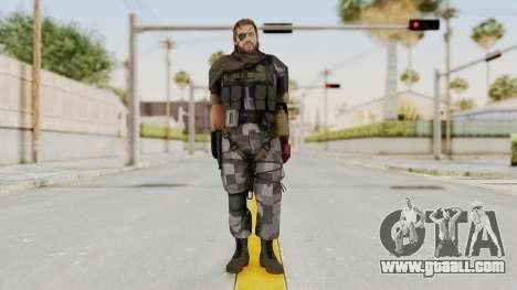 MGSV The Phantom Pain Venom Snake Scarf v7 for GTA San Andreas second screenshot