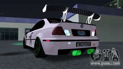 BMW M3 E46 JDM for GTA San Andreas right view