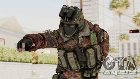 Battery Online Russian Soldier 8 v1 for GTA San Andreas