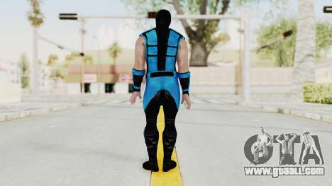 Mortal Kombat X Klassic Sub Zero UMK3 v1 for GTA San Andreas third screenshot