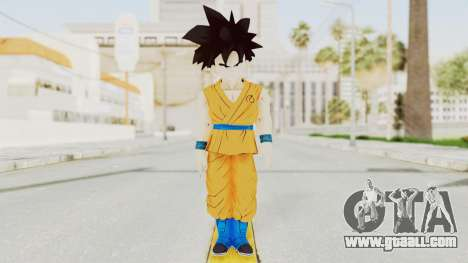 Dragon Ball Xenoverse Gohan Teen DBS SJ v2 for GTA San Andreas second screenshot
