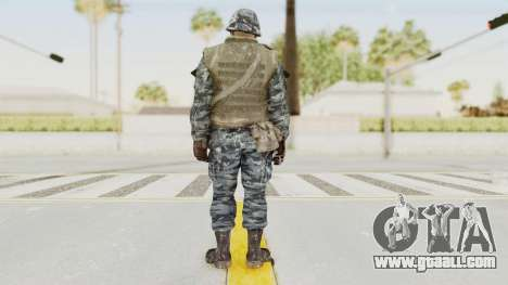 COD BO Russian Spetznas Flak MP v2 for GTA San Andreas third screenshot