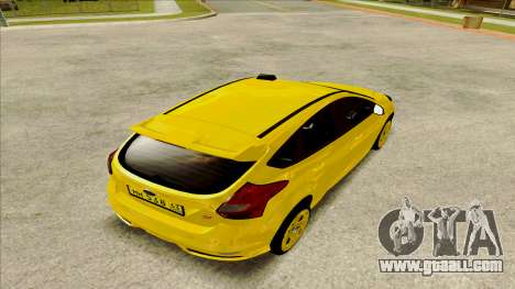 Ford Focus Taxi for GTA San Andreas left view