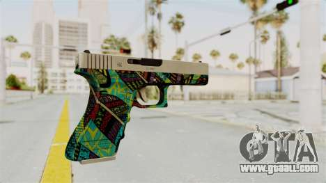 Glock 18C for GTA San Andreas second screenshot