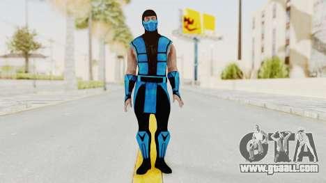 Mortal Kombat X Klassic Sub Zero UMK3 v1 for GTA San Andreas second screenshot