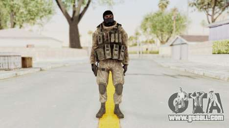 COD MW2 Shadow Company Soldier 3 for GTA San Andreas second screenshot